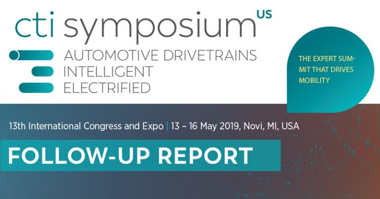 Follow-up report on the 13th International CTI Symposium USA 2019