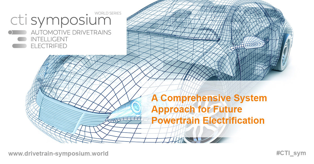 A Comprehensive System Approach for Future Powertrain Electrification