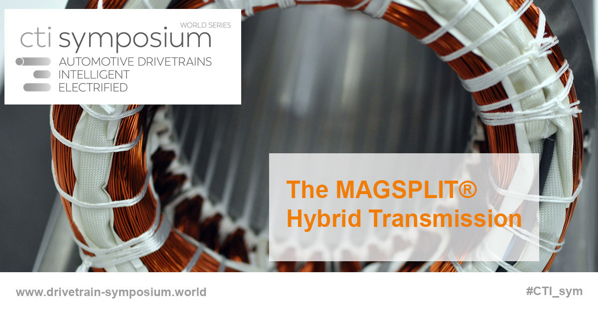 The MAGSPLIT® Hybrid Transmission