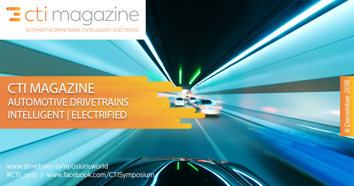 New CTI Mag out now – Automotive Drivetrains | Intelligent | Electrified