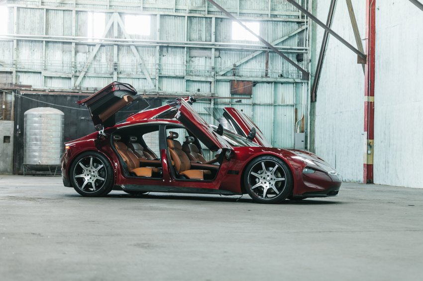 Fisker Automotive and their 40.000 dollar electric car for the mass market