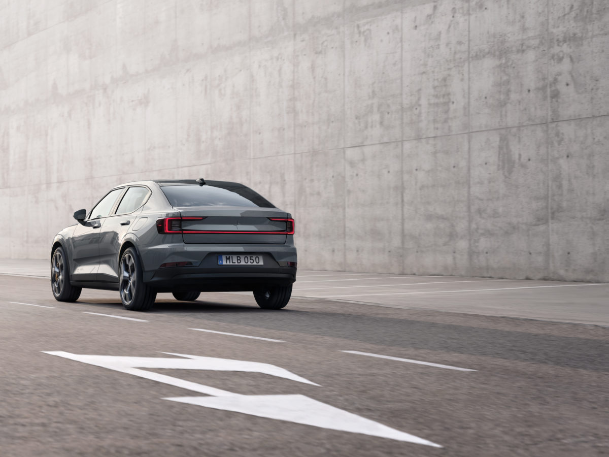 Polestar- Pure, Progressive Performance. Fully electric – from €40,000.
