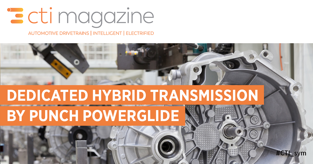 Dedicated Hybrid Transmission (DHT) by PUNCH Powerglide – an innovative concept for an optimized DHT in terms of efficiency, cost and packaging.