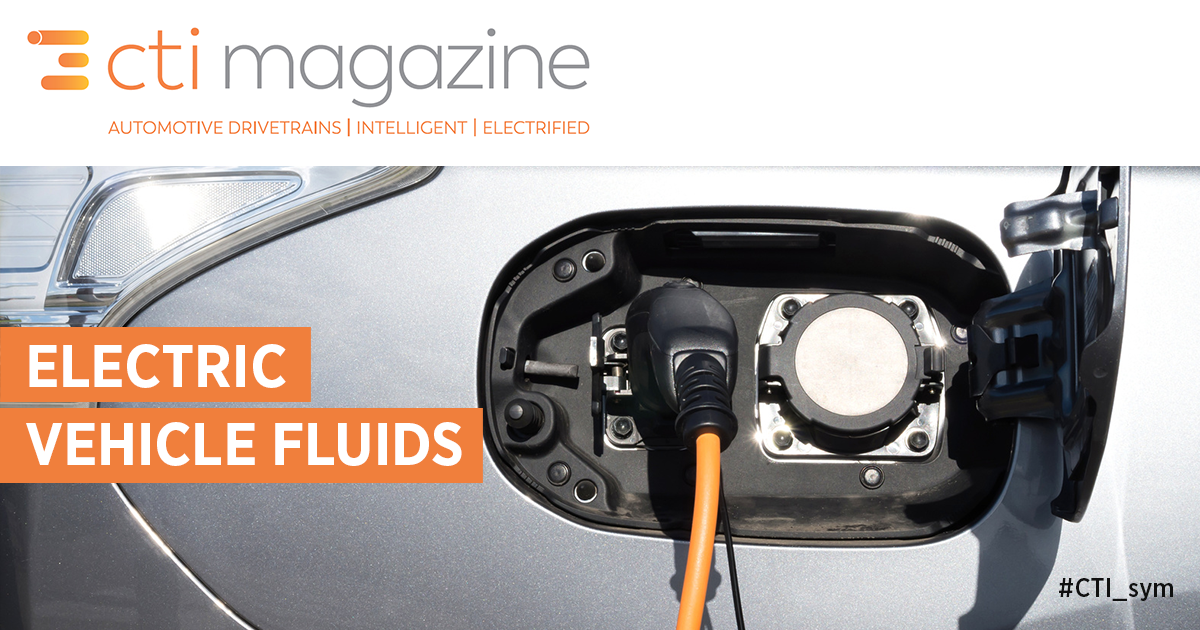 Electric Vehicle Fluids
