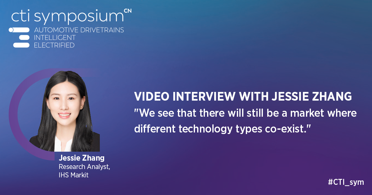 Interview with Jessie Zhang, IHS Markit